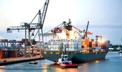 Shipping docks
